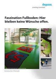 Faszination Fußboden: Hier bleiben keine Wünsche offen.