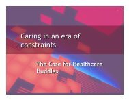 Caring in an era of constraints Caring in an era of constraints - RPNAO