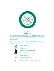 Vehicle - Automotive - Kaba Ilco