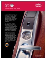 Intelligent Wifi Access Control - ASSA ABLOY Door Security ...