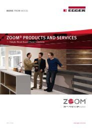 ZOOM® PRODUCTS AND SERVICES