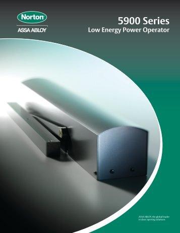 5900 Series   ASSA ABLOY Door Security Solutions :: Extranet