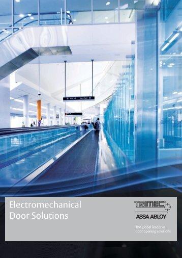 Electromechanical Door Solutions - Door Entry Direct