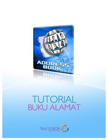 selamat datang ke talk fusion tutorial buku alamat
