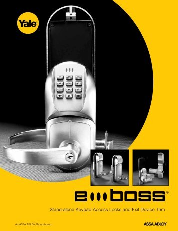 Stand-alone Keypad - ASSA ABLOY Door Security Solutions ...