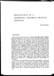 Empirical Explorations of the Geometry-Theorem Proving ... - AITopics