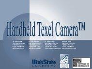 Hand Held Texel Camera Development - Utah State University