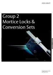 Assa Abloy - Group 2:  Mortice  Locks - AutoSpec Media Server