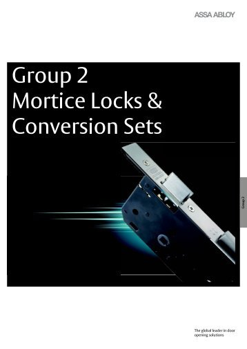 Assa Abloy - Group 2:  Mortice  Locks - AutoSpec Media Server