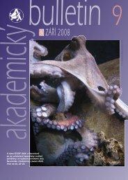 ab ZÁŘÍ 2008 - Akademický bulletin - Akademie věd ČR