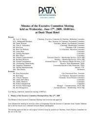 Minutes of the Executive Committee Meeting held on Wednesday ...