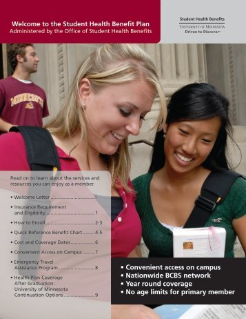 2010-2011 SHBP Enrollment Brochure with Quick Reference Chart