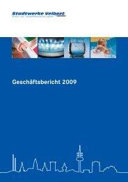 Geschäftsbericht 2009 - Stadtwerke Velbert