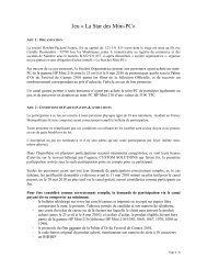 Jeu « La Star des Mini-PC» - Hewlett-Packard France - HP