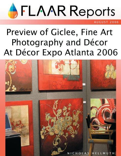 Preview Art Decor Expo Atlanta 2006 - Wide-format-printers.org