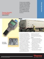 Thermo Scientific identiFINDERTM - Envinet a.s.