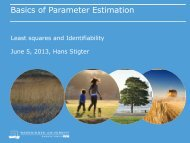 Basics of Parameter Estimation - NCSB
