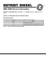 18SP653* – EPA04 and EPA98 MBE 4000 High Pressure     - ddcsn