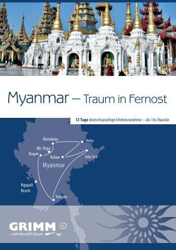 Myanmar – - Grimm Reisen