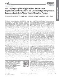 Superconductivity in graphite