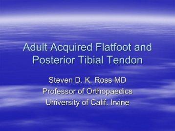 Steve Ross, M.D. - California Orthopaedic Association