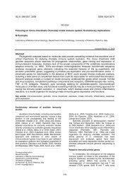 (Tunicata) innate immune system. Evolutionary implications