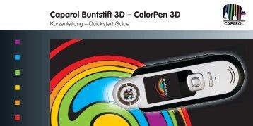 Caparol Buntstift 3D – ColorPen 3D
