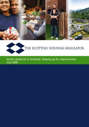 Social Landlords in Scotland: Shaping up for improvement