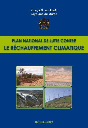 LE CHANGEMENT CLIMATIQUE - Département de l'environnement