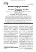 Bacterial chemotaxis and entropy production - Page 2