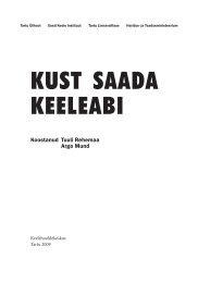 KUST SAADA KEELEABI - koduleht.net engine