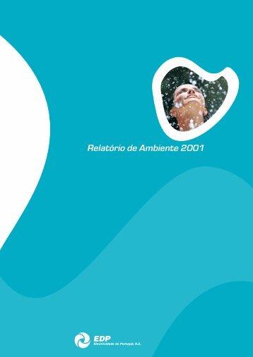 Relatório de Ambiente 2001 - EDP
