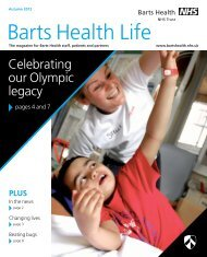 new BH issue 2 final.qxd:Layout 1 - Barts Health NHS Trust