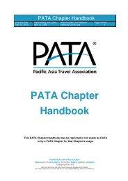 PATA Chapter Handbook