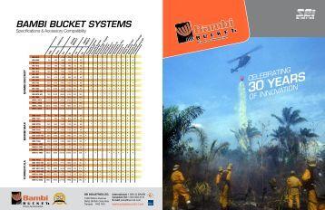 BAMBI BUCKET SYSTEMS - SEI Industries Ltd.