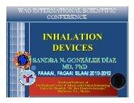 Sandra González-Díaz - World Allergy Organization