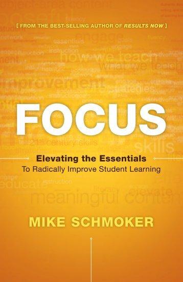 """Schmoker """"Focus"""". - ASCD Groups"""