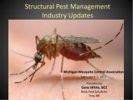 Pest Management Industry Updates - Michigan Mosquito Control ...