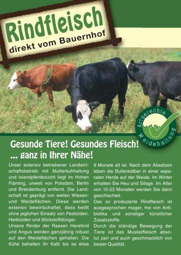Flyer Bio Rindfleisch 29.03.indd - Reiterhof und Erlebnisbauernhof ...
