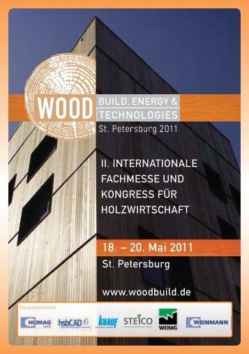 18. – 20. Mai 2011 - Forum-HolzBau