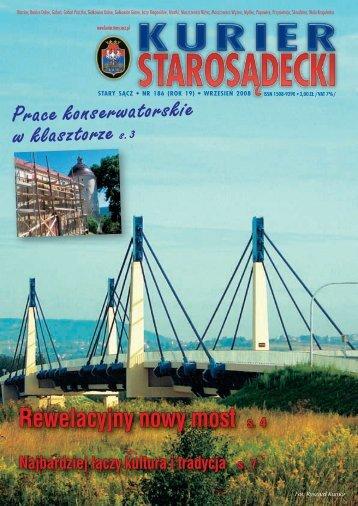 nr 186 wrzesień 2008 - Kurier Starosądecki