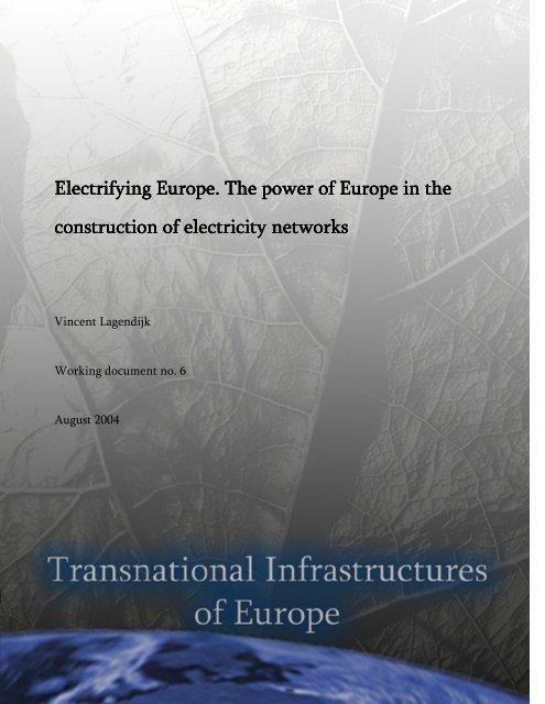 Electrifying Europe - Technische Universiteit Eindhoven