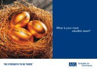 What is your most valuable asset? - AIG.com