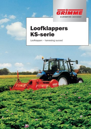 KS-serie - Grimme Landmaschinenfabrik GmbH & Co. KG