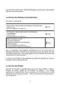 Le Service des Relations internationales - Page 6