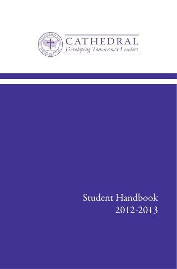 Student Handbook CoverProof BK - FTP Directory Listing