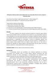 Utilização do Sistema adesivo ... - Uningasm.com.br
