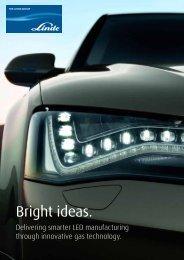 Bright ideas. - Linde Gas