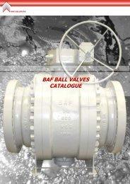 BAF BALL VALVES CATALOGUE