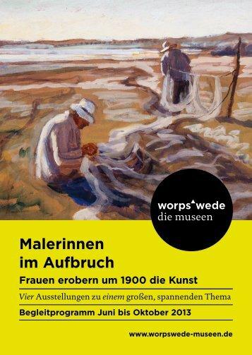 Begleitprogramm Sommer 2013 - Worpswede Museen